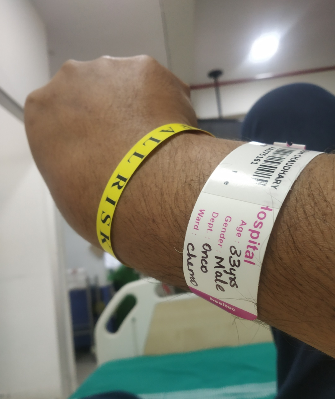 Finished 10 chemotherapy sessions