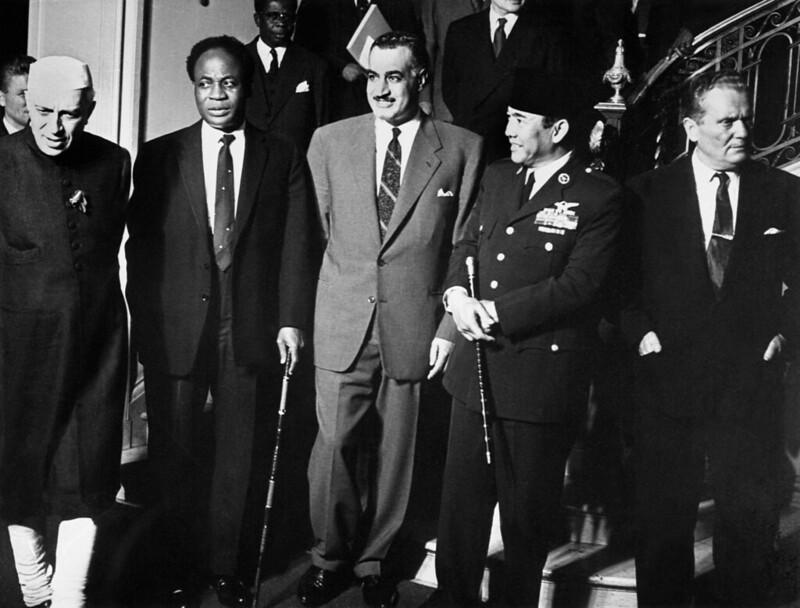 Jawaharlal Nehru, Kwame Nkrumah, Gamal Abdel Nasser